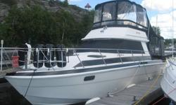 PRICED TO SELL   TURN KEY  1981 WELLCRAFT 310 SEDAN 705-578-2167 (home)   705-849-5171  (cell)   $26,000.00 Spanish, On., Canada (North Channel)  Sale by Owner, 1981, White & Black  Description: 1981 Wellcraft 310 Sedan Bridge.  Very Clean. 31 feet (33.5