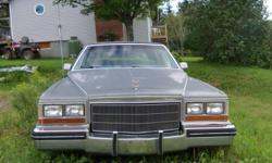 82 Fleetwood Brougham Diesel for parts or repair. Body in good shape but hasn't been started in a while.