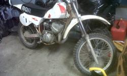 i have an cr 80 needs to go call 4 more info  289 686 5582 josh or tex
