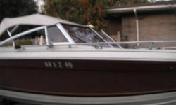 1984 - 19'Thundercraft baot for sale, comes with trailer. 3.8 OMC engine, engine runs great and boat in great condition, just too small for the family, need to upgrade, also seats six, great family boat with high sides and rides well... Asking $4,500, but