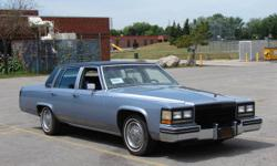 sedan deville. IN CLASSIC CONFIGURATION. recently rebuilt 4.1 v8 with 4spd overdrive auto. Leather, wood trim, chrome. Alpine cd player with factory installed bose-delco speakers with great sound. Power antenna, itermittant wipers, auto headlights, power