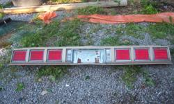 tail light assembly is complete with wiring, marker lights, tail lights, all lenses. perfect condition front bumper  grille in ok shape (no cracks, just needs a painting)    tail light assembly $60 bumper $100 FIRM!!!!!!!!!!!!!!!! grille $40   or all for