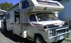 ?1984 Chev Glendale Class C 22 ft, motor 350 gas and propane ,fully loaded, everything in good condition. Asking $5,000 Firm, Call 705-335-1464. Email mailto:dandoof@hotmail.com