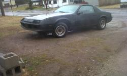 I am selling a 1984 Camaro Berlinetta, it is a very rare car. There is only 3 of these cars in Ontario (on the road). This car is all original, with a digital dash board, signal switch on dash board, rotating stereo, and rims. The cars interior is in