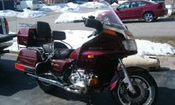 New exhaust, seat recovered, new battery, serviced this year and ready to ride.