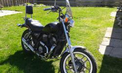 1984 Honda shadow looks and runs great! New battery.tires.seat and fresh fluids.Dependable shaft drive ready to ride. BONUS also includes parts bike! $1550.00 obo call or text(705) 257-0875