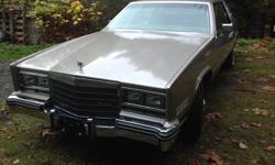 Make Cadillac Model Eldorado Year 1985 Colour Beige kms 90788 Trans Automatic This is one of the nicest original Eldorado's anywhere ,90,788 actual km , garage kept since new , virtually all Cadillac options including sunroof has the desirable factory
