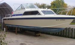 1985 Chris Craft Catalina 251,350 Mercruiser,550 Hrs on Engine,Second Owner of Boat,Convertible Top with Camper Back,Lots of Extras,Nice Clean Boat,5500, O.B.O. Will Trade for Harley.