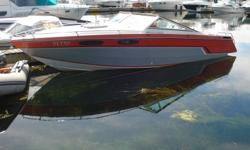 1985 ChrisCraft Scorpion 230 - 23ft - 350 Merc - Alpha Drive with stainless prop - Thru hulls with mufflers - no trailer. $4500.00 obo  613-328-2378. Boat is coming out of the water in the next week.