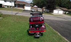 I am selling my 1985 Honda goldwing (interstate) tires are in very good shape, trailer hitch ,overall the motorcycle is in excellent condition.