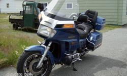 Nice bike mint condition , ready to go, full equip cd, remote control, cruise, very mint.$4000 or b.o.