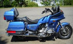 1985 Honda Goldwing. Very good condition, Corbin seat (have original) low kms on new tires,new battery, brakes,etc. Collector plates and cheap on insurance. Bought new bike so I am motivated to sell this one.