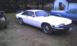Offering our 1985 jag XJS was originally a 12 cyl and now sports a corvette engine. Has new brakes front and back as well as a new fuel tank. And sub frame. There is not 100 km?s since the work was done at the Jag shop.Up graded front seats from a mid