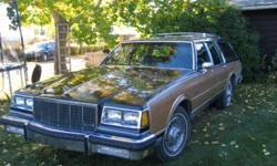 1986 Station Wagon in very nice condition inside and out. Excellent running condition.could be used as a daily driver.people allways comment on the beauty of this gem.