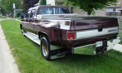 1986 chevy crew cab, new 454 rebuilt less than 10,000km ago. fuel inj. headers, flowermaster. new 3:73 gear in rear end overdrive trans. no e-test needed, little to safety. IF SERIOUS CALL TO VIEW IN WINDSOR. please dont waste my time with dead-end