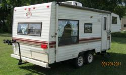 Price has been reduced ·       Sleep 6 ·       Newer 2 way fridge  (propane & electrical) ·       Roof A/C (works on 15 amp) ·       New battery (high capacity ? deep cycle) ·       4 ? New 8 ply tires ·       New tail lights ·       Flipped axles,