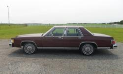 1987 Grand Marquis for sale. Excellent condition, never winter driven, no damage, rust free, 66 000 original km. A/C, tilt, cruise, power antenna, power windows, power door locks. $8900 or close offer. Willing to discuss trade for a truck. Call (don't