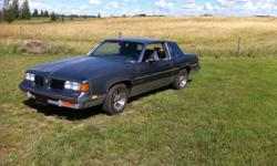 Olds 442 all original. interior very good shape and exterior good shape. Fully loaded air, cruise, tilt, power windows, locks and seats. The motor is the V8 307 H.O $5200 Phone after six 384-6835 This ad was posted with the Kijiji Classifieds app.