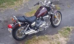 Make Yamaha Year 1987 kms 17000 just had the carbs professionally rebuilt, good tires, comes with some extra parts, a carb syncher, some saddlebags, Haynes manual, body in great condition, seat looks brand new. It's spitting out blue/white smoke. Either