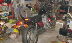 Wife says too many projects so some have got to go :(   For Sale 1987 Yamaha XV535 Virago Partial rebuild already done. New paint and many new parts.   Bike comes with at least most of the parts to finish the job, and repair manual for assistance   Asking