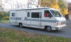 1988 crosscountry motor coach in excellent condition ready to go the distance. There is lots of extras on board including 3500.00 watt generator. This unit has a 460 engine running excellent with lots of pulling power to pull small car or boat behind.