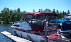 For Sale 1988 Doral Citation 5.7 L OMC New custom top in fall of 2010 $ 4000.00 Serviced by marina, stored indoors for winters Good condition and everything in working order. new marine head, new fresh water pump in 2010. Good reliable boat, sleeps 4.