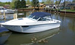 Immaculately maintained 20ft Prowler Cuddy Cabin by Copper Yachts, no need to spend your winter fixing the small stuff. Runs great, combination of economy and power with a 3.7 liter 4 cylinder installed Stingray XR-III hydrofoil gets up on plane quick.