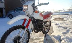 I have a 1988 Yamaha DT 50 for sale or trade. I will have the ownership for the bike when I let it go. Please message me if you want more detail about the bike. Thanks for looking.    Vintage, Yamaha Dt50 on/off road bike.