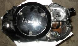 85 90 yamaha rz 350 clutch cover 80,stator cover 60, plus shipping