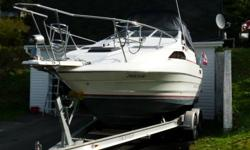 1989 Bayliner 2155 Ciera Sunbridge in EXCELLENT condition. Vessel has been meticulously maintained and shows very well.   Engine: 1996 Yamaha 5.7L V8 250HP (reconditioned in 2009) New Gas Tank Installed 2011 (approx 208L/55GAL) New 120V AC Refridgerator