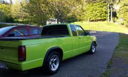 Make Chevrolet Model S-10 Year 1990 Colour Green kms 250000 Trans Manual Truck is in good condition, runs well. Good brakes, tires and clutch. Clean truck. 4.3 litre engine with elderbrok carb and holley fuel pump and bed cover.