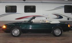 ***YES ONLY 2,000kms!! Time CAPSULE!!*** 1990 Ford Mustang 5.0L V8 Convertible with only 2,000kms!! This legendary 5.0L V8 mustang features a fun to drive 5 speed standard transmission, power top, air, cruise, power windows, power locks, power mirrors,