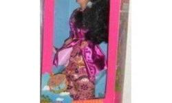 I am selling a DOLLS OF THE WORLD Barbie by MATTEL. She is a 1990 MALAYSIAN BARBIE, in her original box and never been opened   ****I am starting to sell off all my entire barbie collection of over 100 dolls, all new in boxes ****