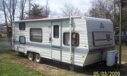 FOR SALE 90 24 ft prowler travel trailer weights 3640 lbs sleeps 8 everything but air come with honey pot heavy duty draw bar & sway bars very clean very well looked after pictures included if interested call or e-mail  902 544-1029 or 902 577-8866 thank