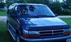 Make Dodge Model Caravan Year 1992 Colour Blue kms 283000 SAFTIED, 3.3 L GOOD CONDITION
