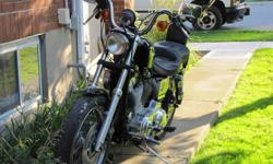 nice clean low mileage sporty. Lowered with progressive shocks, drag pipes, carb rebuilt, a must see bike. Asking 4500.00 or best reasonable offer.