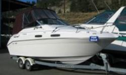 93 23ft. Searay sundancer, 130 hours new Mercruiser 5.7 260hp & Alpha Gen II upper outdrive, electric  toilet & holding tanks.  4 blade prop, gavanized tandem axle trailer. Runs smooth, many updates, professionally maintained. $ 16,500.00   OBO
