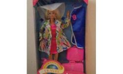 This auction is for a Barbie doll from MATTEL. She is an INTERNATIONAL PEN FRIEND BARBIE in her original box, Unopened   ****I am starting to sell off all my entire barbie collection of over 100 dolls, all new in boxes ****