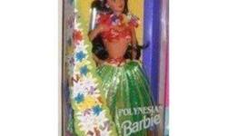 I am selling a DOLLS OF THE WORLD Barbie by MATTEL. She is a 1994 POLYNESIAN BARBIE. She comes in her original box and never been removed   ****I am starting to sell off all my entire barbie collection of over 100 dolls, all new in boxes ****