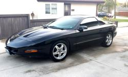 Make Pontiac Model Firebird Formula Year 1994 Colour black in black ext kms 132000 Trans Manual Very rare 1994 Firebird Formula (Transam) up for sale 6 Speed Manual 350 5.7L V8 (Same engine as the Corvette) T-Tops (that don't leak) Black exterior with