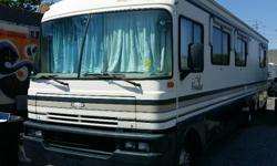 1995 Fleetwood Bounder 181,627KM Does drive - but being sold as-is. Will make a great cottage! ____________________________________________________ Please call Carl at 613-769-6482 for further details. Monday-Friday 8:00 am - 4:30 pm Saturday 8:00 am -