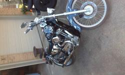 Here i have a 1995 harley davidson sportster its a 883 cc with a 1200cc kit in it it has a hoonie carb, screaming eagle pipes, the bike just had a tun up right from harley have the recipes still and not to sure of everything on the bike but there was lots