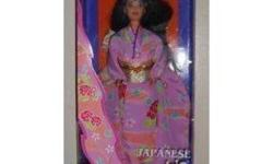 I am selling a Barbie doll from the DOLLS OF THE WORLD collection by MATTEL. She is a 1995 JAPANESE BARBIE in her original box unopened.   ****I am starting to sell off all my entire barbie collection of over 100 dolls, all new in boxes ****