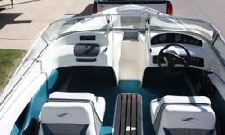 1995 Starcraft 1710 inboard 3.0L motor. White with teal stripe. Good family boat.