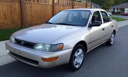 """Make Toyota Model Corolla Year 1995 Colour Tan kms 203000 Trans Automatic 1995 Toyota Corolla DX. SE. 203,000 Km's asking $2150 A very reliable 1.6 litre engine. Automatic transmission and easy to drive. Amazing on gas. New exhaust and battery. No """"Check"""