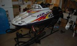 Parting out 1996 and 1998 Polaris XCR 600 High Output with triple pipes. Overall very clean sleds. Selling all components. Please email with any questions or requests for parts not listed yet - this is only a partial listing. Pricing on individual parts