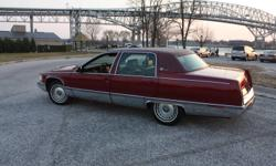 Immaculate 96 Fleetwood Brougham (last model year, winter stored, salt free) ALL original, no accidents fully loaded with all working options, burgandy leather supple and mark free, low mileage all maintenance up to date, will certify. Only selling due to