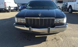 Make Cadillac Model Fleetwood Year 1996 Colour Black kms 139347 Trans Automatic 1996 Cadillac Fleetwood Last year of the Fleetwood production. The car was bought brand new in Alberta and came into Saskatchewan since 2000. Carproof can be provided if