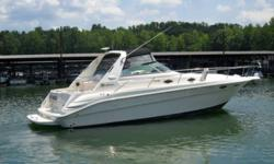 Canadian FRESH WATER boat since new! Exceptional Condition 1996 Sea Ray 330 (35 LOA) Sundancer Express with Low Hours. Powered with twin professionally maintained 7.4 MPI Mercruisers, Heat reversed Air Conditioning, New Windlass, Full Electronics