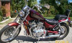 I am offering for sale my 1996 Suzuki INTRUDER 800 motorcycle. Bike is in great condition and will bring lots of joy yo iys new owner. I have taken care of the bike and replaced front and back tires this year oil change regulary , garage kept see